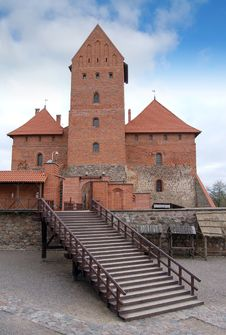 Free Trakai Castle Stock Image - 4750251