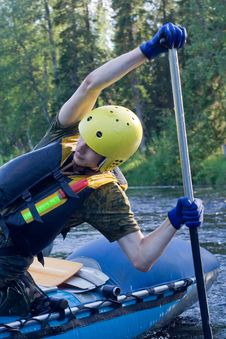 Free Water Sportsman Stock Photography - 4750412