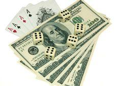 Free Casino Items Royalty Free Stock Photo - 4750515