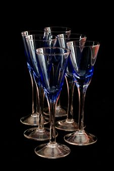 Free Six Colored Glasses Stock Images - 4750684