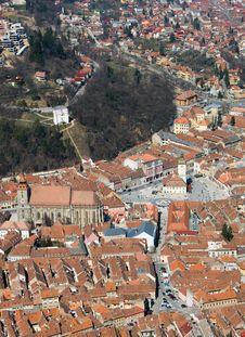 Brasov City, Transylvania Royalty Free Stock Image