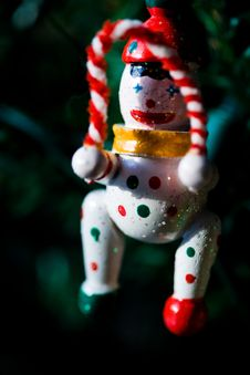 Christmas Ornament Hanging From A Christmas Tree Royalty Free Stock Images