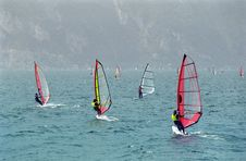 Free Windsurf Garda Stock Photography - 4751532