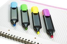 Free Markers Stock Photography - 4751612