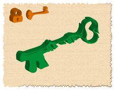 Free Key And Padlock Royalty Free Stock Image - 4751616