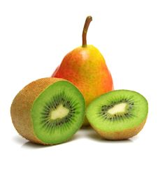 Pear And Kiwi 2 Stock Photo