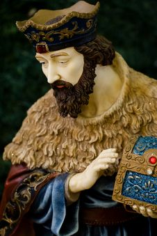 Free Nativity Figure Of A Wiseman Royalty Free Stock Photo - 4751725