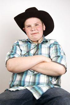 Free Young Handsome Cowboy Stock Images - 4751784