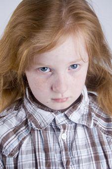 Free Sad Looking Girl Stock Photo - 4751870