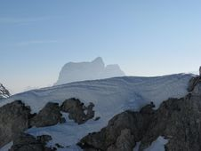 Free High Mountain Snow Stock Image - 4751981
