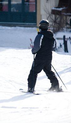 Free A Person Enjoying Skiing Stock Photo - 4752370