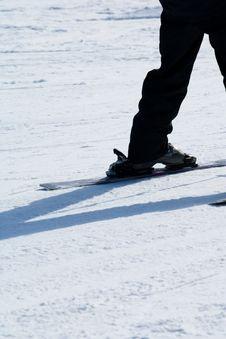 Free Close Up Of Someone Skiing Stock Photos - 4752373