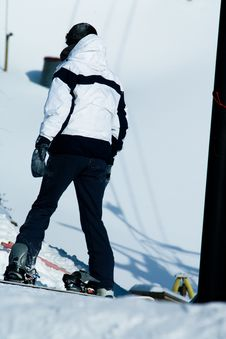 Free A Person Enjoying Snowboarding Royalty Free Stock Images - 4752379