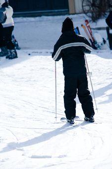 Free A Person Enjoying Skiing Stock Photo - 4752380