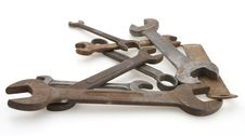 Free Vintage Wrenches Stock Images - 4752774