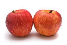 Free Two Red Apples Stock Image - 4752981