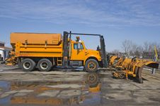 Free Plow Truck Stock Photography - 4753092