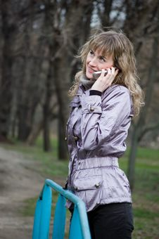 Free Phone Girl Stock Photos - 4753723