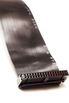 Free Black Computer Ribbon Cable Stock Photography - 4753962
