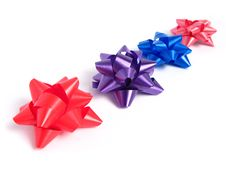 Free Four Gift Bows Stock Images - 4754094