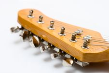 Free Part Of Guitar Royalty Free Stock Photography - 4754097
