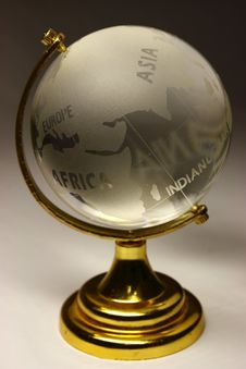 Free The Glass Globe Royalty Free Stock Images - 4754139