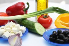 Free Multi-coloured Vegetables For Salad Stock Photo - 4754230