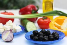 Free Multi-coloured Vegetables For Salad Stock Images - 4754244