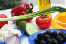 Free Multi-coloured Vegetables For Salad Stock Photos - 4754283