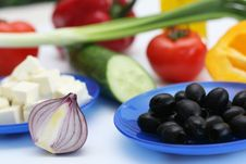 Free Multi-coloured Vegetables For Salad Stock Images - 4754294