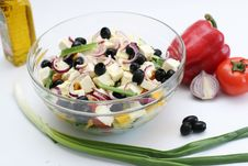 Free Multi-coloured Vegetables For Salad Royalty Free Stock Image - 4754356