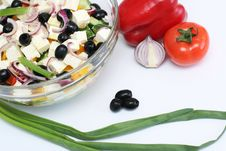 Free Multi-coloured Vegetables For Salad Royalty Free Stock Image - 4754376