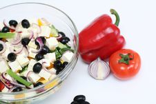 Free Multi-coloured Vegetables For Salad Royalty Free Stock Image - 4754406