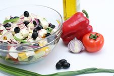Free Multi-coloured Vegetables For Salad Royalty Free Stock Photos - 4754428
