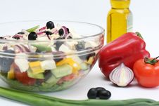 Free Multi-coloured Vegetables For Salad Royalty Free Stock Photos - 4754438