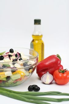 Free Multi-coloured Vegetables For Salad Royalty Free Stock Photo - 4754445
