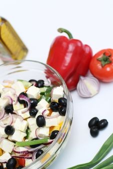 Free Multi-coloured Vegetables For Salad Stock Photo - 4754510