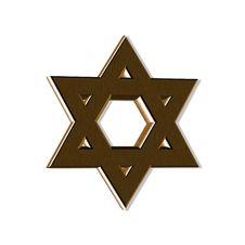 Free Wooden Jewish Star Stock Photos - 4754563
