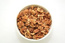 Free A Bowl Full Of Walnuts Stock Photo - 4755110