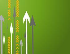 Free Lots Of Arrows Vector Illustra Royalty Free Stock Photo - 4755125