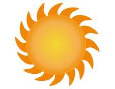 Free The Sun Vector 3 Royalty Free Stock Photos - 4755148