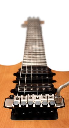 Free Closeup Of Electric Guitar Bridge Stock Photography - 4756162