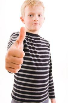 Free Little Boy Royalty Free Stock Photos - 4756168