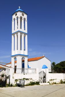 Free Greek Church Royalty Free Stock Photo - 4756535