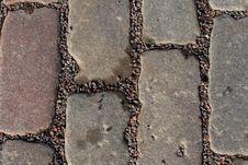 Free Cobblestone Pavement Stock Photography - 4756912