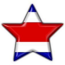 Free Costa Rica Button Flag Star Shape Stock Photos - 4758573