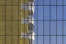 Free Old And New -city Reflexions Stock Photography - 4758942
