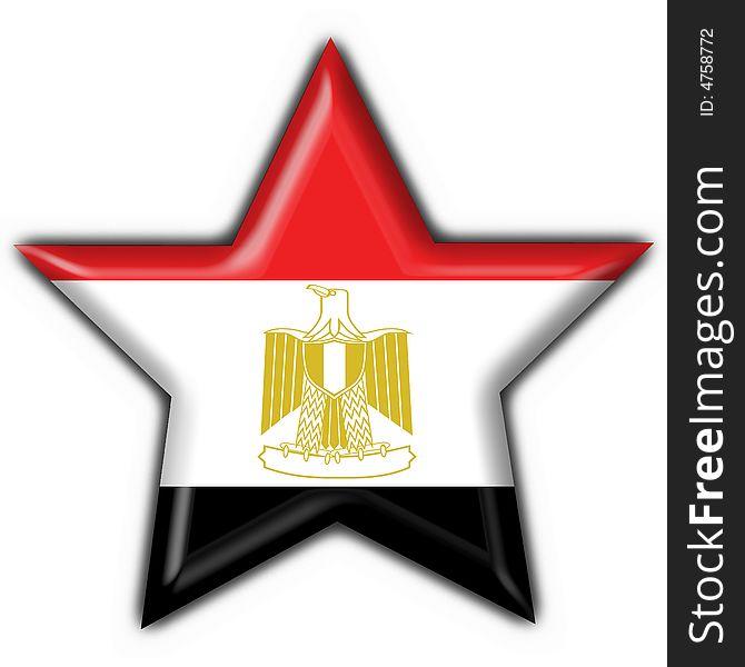 Egypt Button Flag Star Shape Free Stock Images Photos 4758772