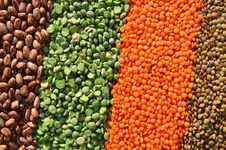 Free Lentils And Peas Stock Photos - 47522843