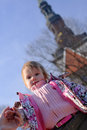 Free Little Girl Looking Down Royalty Free Stock Photos - 4762618